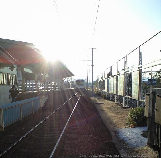 電車・定刻出発