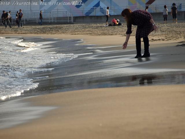 波を、掬い取る