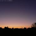 納会の日の夕刻