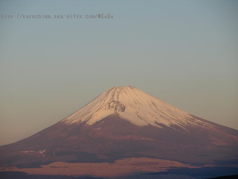 元旦の富士